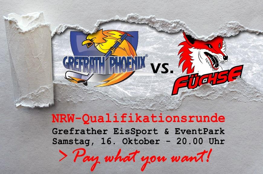 Grefrath Phoenix empfangen Top-Favoriten zum ersten Pflichtspiel