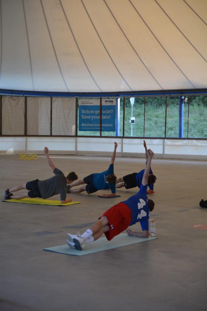 U17 wieder im Training
