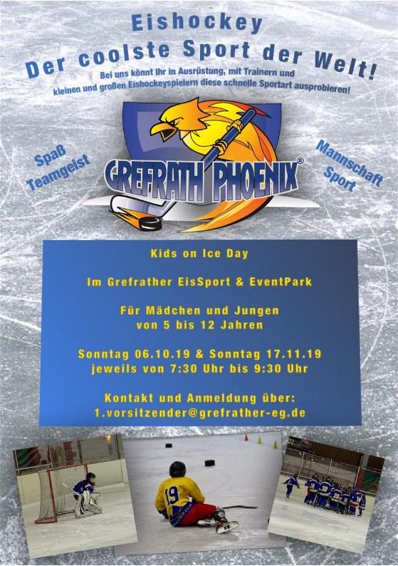 Kids On Ice Day – Selber einmal Eishockey ausprobieren!?