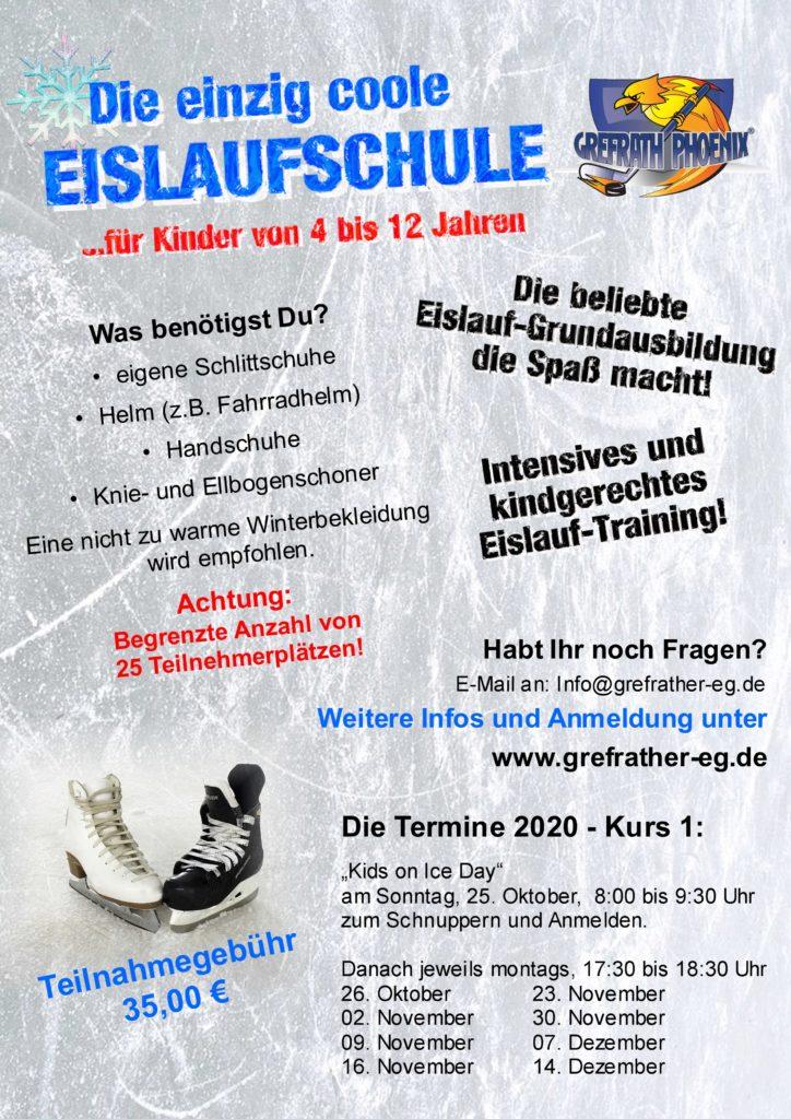 Eislaufschule startet – Alle Plätze belegt